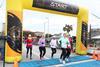 Pensacola Beach Run Half Marathon 2021 - Finish Line Trap Cam
